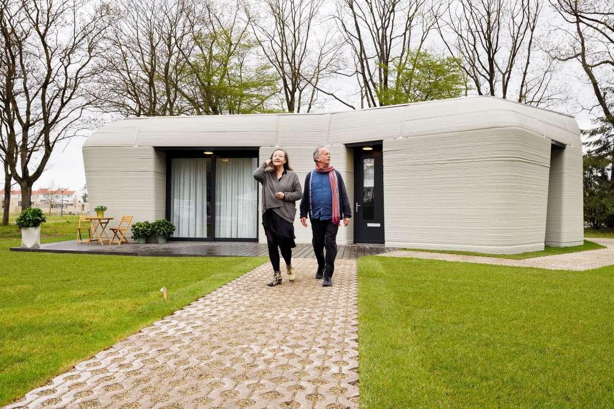 ¿Vivirías en esta casa hecha con impresora 3D? Elize y Harrie ya lo hacen