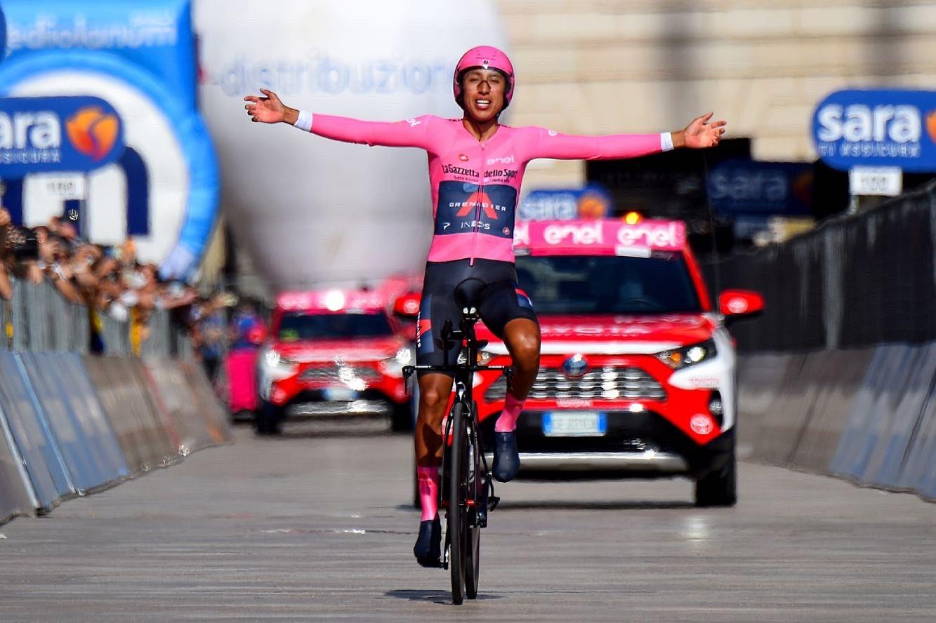 El mensaje de paz de ciclista Egan Bernal, colombiano ganador del Giro de Italia