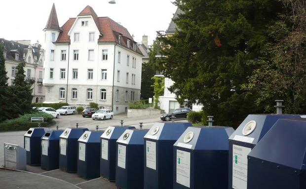 En suiza tienen la cultura del reciclaje muy arraigada