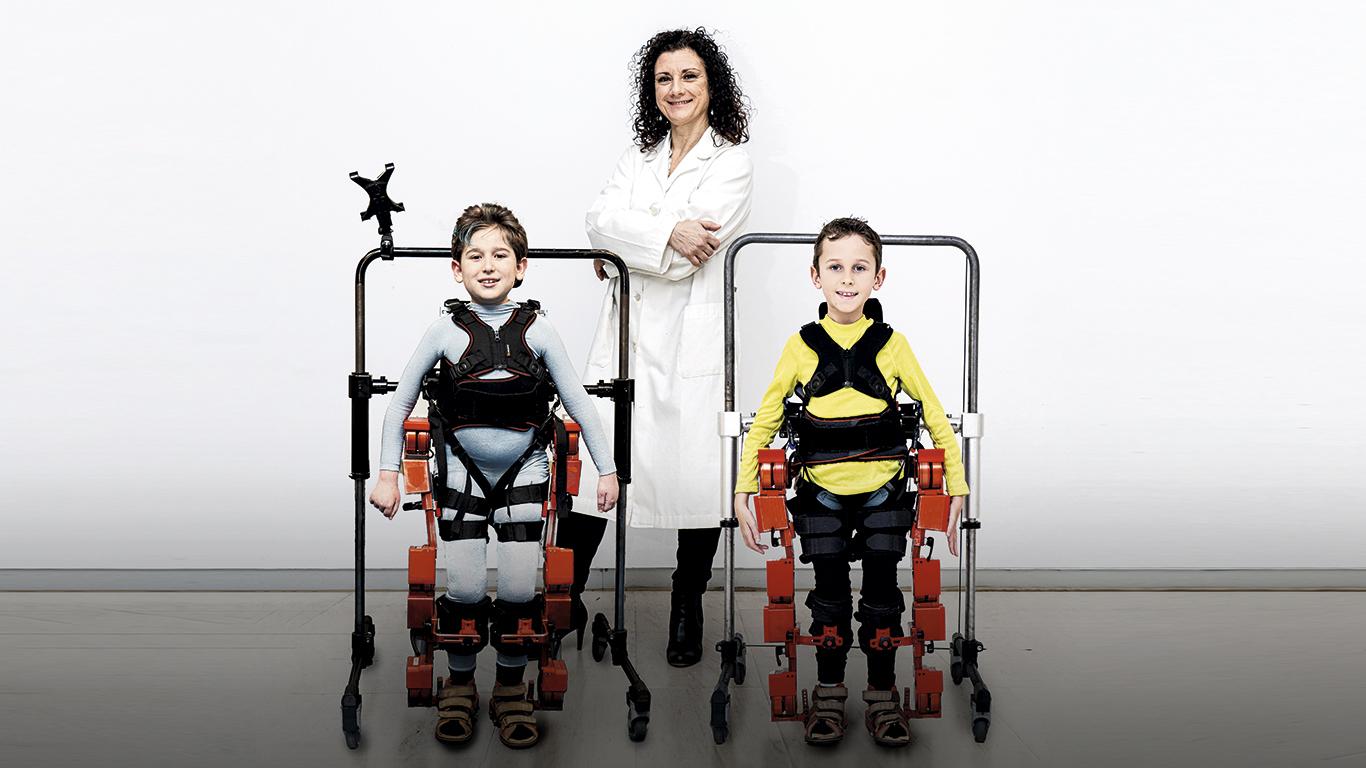 Crean el primer exoesqueleto para niños con parálisis cerebral y ¡se puede comercializar!