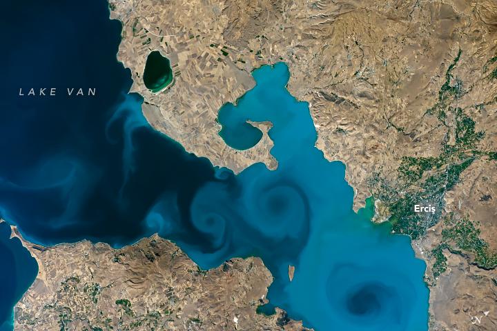 ESTA es la foto ganadora del Tournament Earth, la mejor foto de la Tierra según la NASA