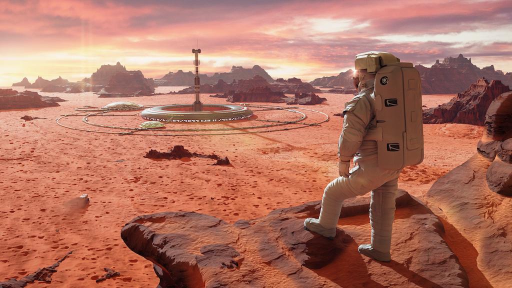 La NASA trabaja en 5 potentes tecnologías para llevar humanos a Marte