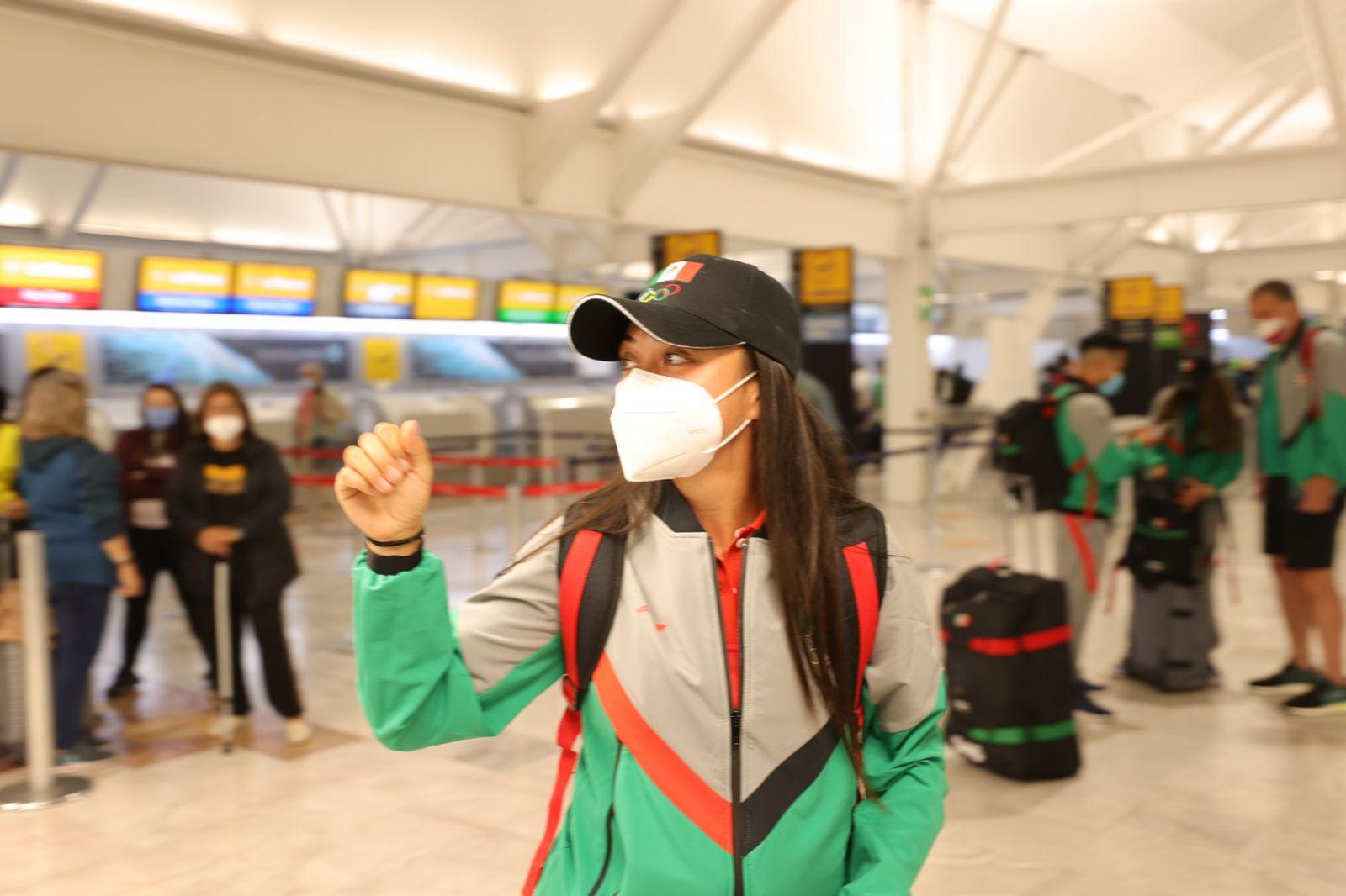 Esta es la razón por la que un grupo de atletas mexicanos llegó primero a Tokio