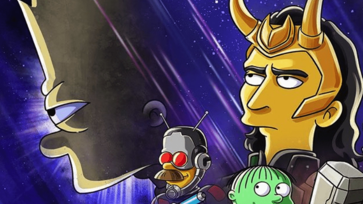 Bart Simpson y Loki juntos en este nuevo corto animado