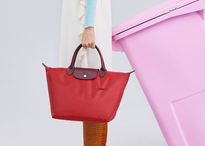 Le Pliage Green, la icónica bolsa de Longchamp ahora ¡sostenible!