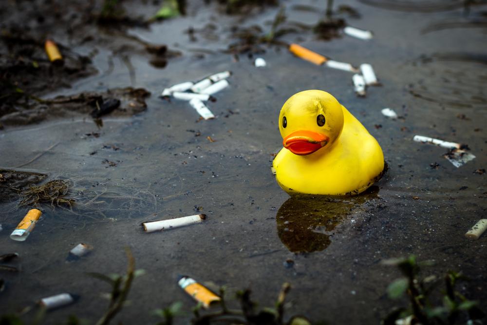 'Para bien o para mal': reciclan colillas de cigarro para darles un nuevo uso