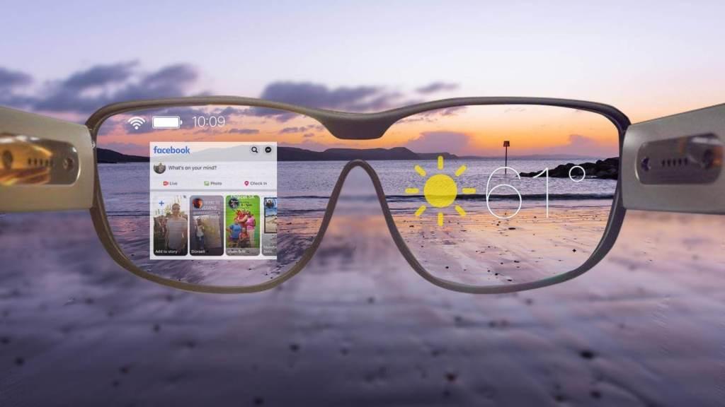 Facebook quiere reemplazar la era de los smartphones con estos lentes inteligentes