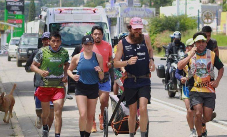 El 'Forrest Gump' alemán está en México para terminar su recorrido mundial, ¡conócelo!