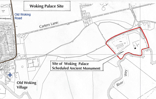 How to get to Woking Palace