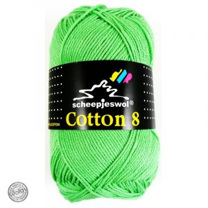 Cotton 8 - 517 - Appel Groen