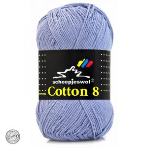 Cotton 8 - 651 - Lavendel Paars
