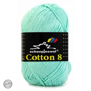 Cotton 8 - 663 - Licht Mint Blauw