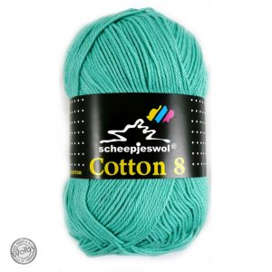 Cotton 8 - 665 - Mint Blauw