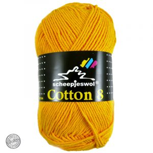 Cotton 8 - 714 - Ei Geel
