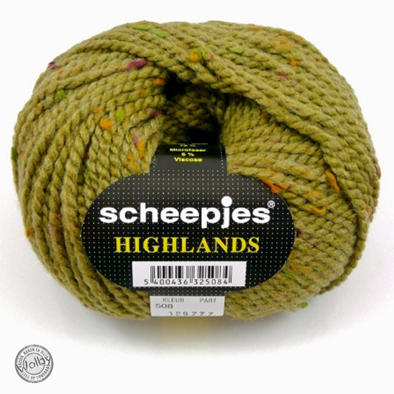 Highlands 508 - Mosterd Geel