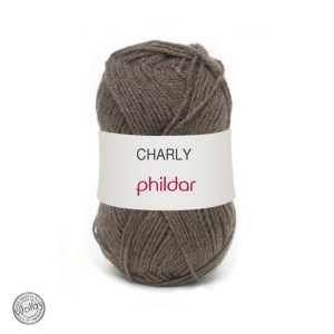 Phildar Charly 009 - Ourson / Donker Bruin