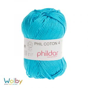 Coton 4 - 041 - Turquoise