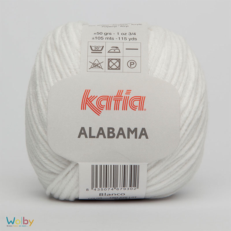 Katia Alabama 01 - Blanco / Wit