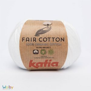 Katia Fair Cotton 01 - Blanco / Wit
