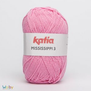 Katia Mississippi 3 - 755 - Chicle / Roze