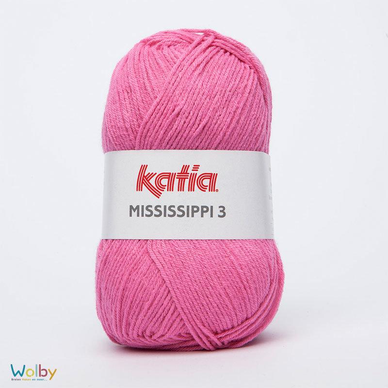 Katia Mississippi 3 - 816 - Rosa Chicle / Hard Roze