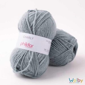 Phildar Charly 049 - Fjord / IJs Blauw