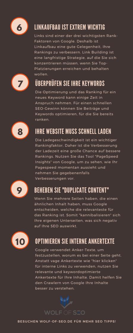 2 - 6 Smarte Wege um mehr Website Traffic zu generieren