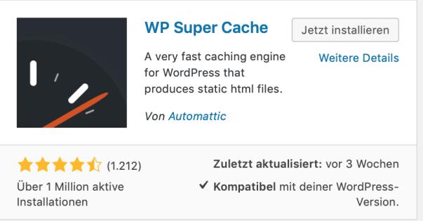 Bildschirmfoto 2019 01 11 um 14.09.06 - Wordpress Ladezeit optimieren - Grundlagen & Tools