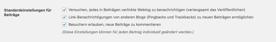 WordPress Kommentare - Konfiguration, Strategie & Policy
