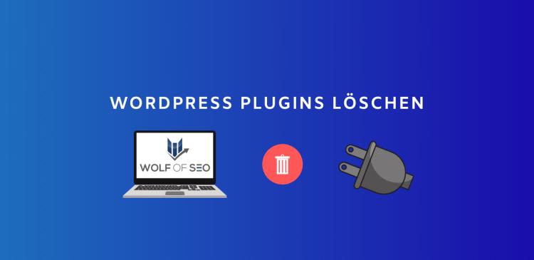 wordpress plugins löschen