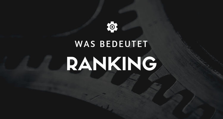 Was bedeutet Ranking