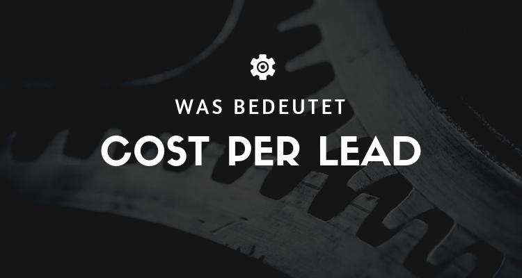Was bedeutet 4 2 - Cost Per Lead