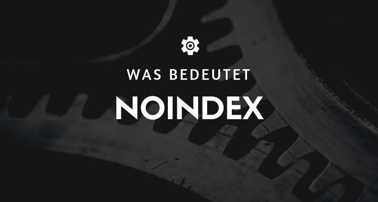 Was bedeutet 4 - Noindex