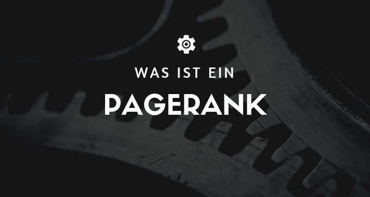 Was ist ein PageRank