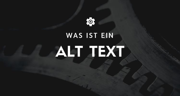 Was ist ein Alt Text