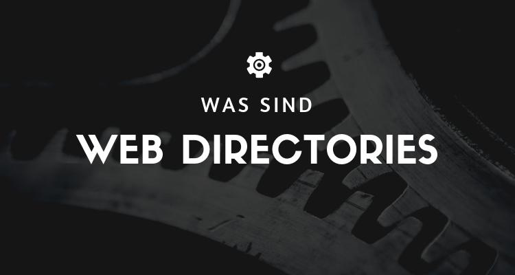 Was ist 38 1 - Web Directories