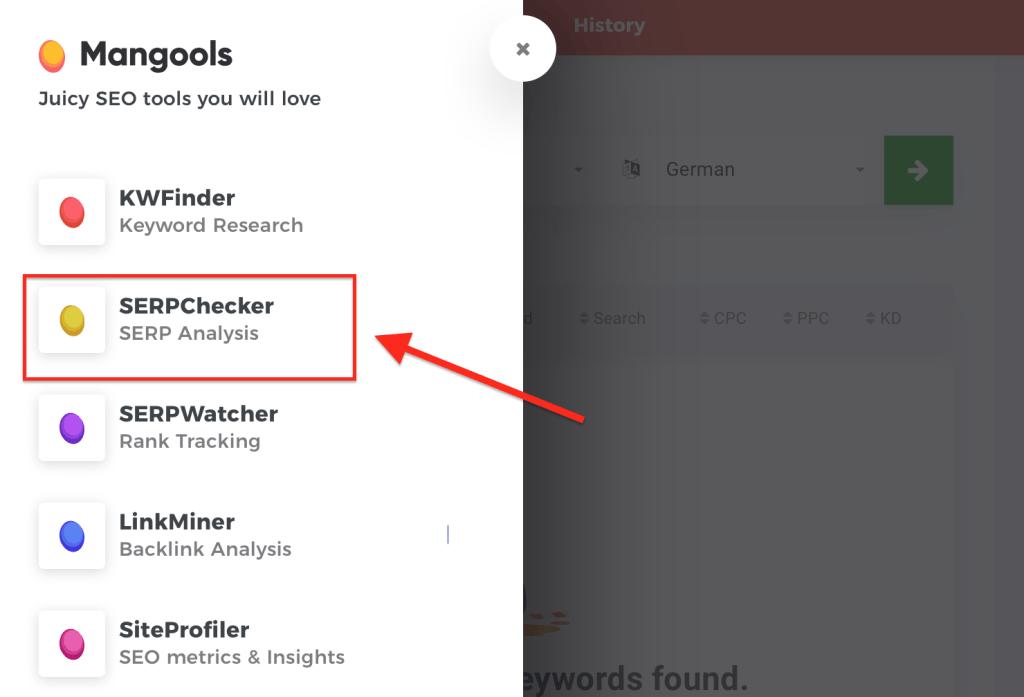 Bildschirmfoto 2019 08 24 um 10.57.25 1024x697 - KWFinder Testbericht: Was taugt das Keyword Tool?
