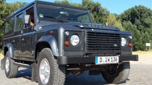 Unser Land Rover Defender 110