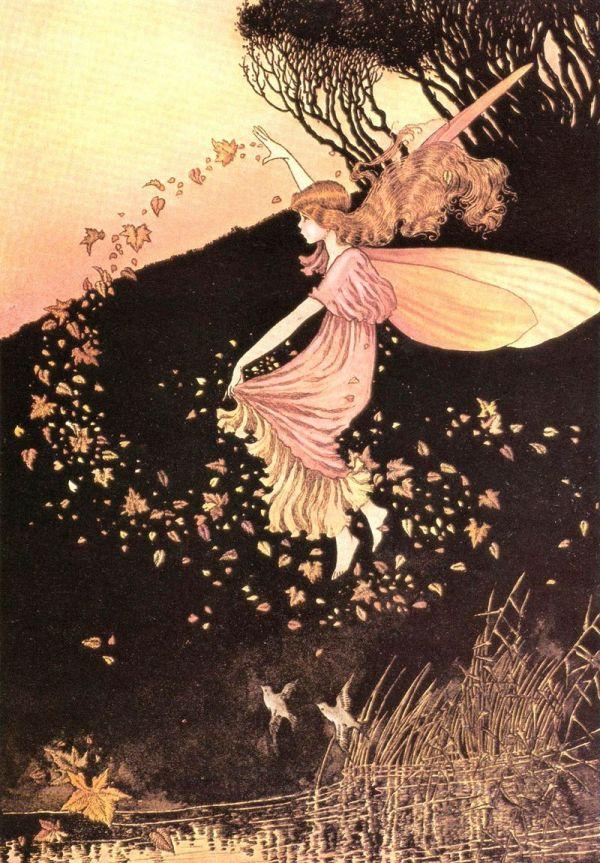 Vintage Fairy Illustration