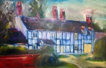 Cottage Without Thatched Roof