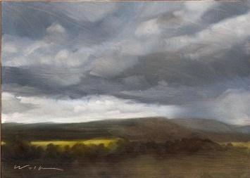 Rain on Cymbeline's Mount