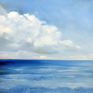 Sea with Clouds