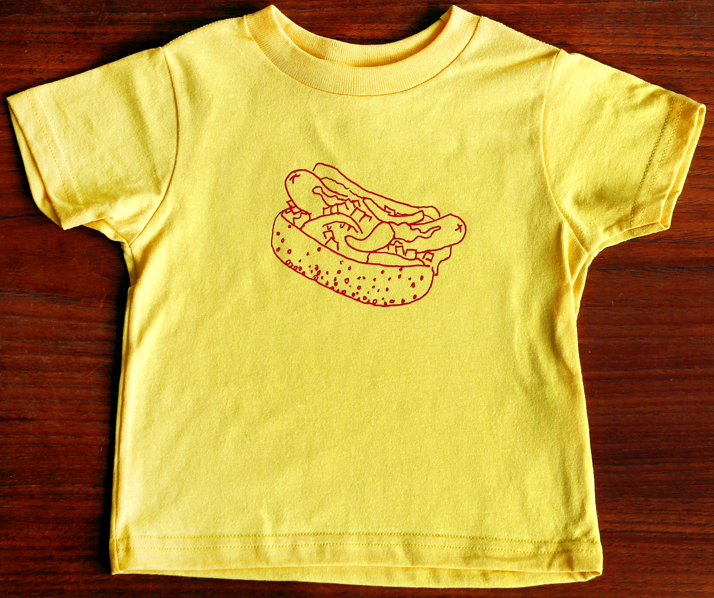 Kids' Chicago Style Hotdog Tee
