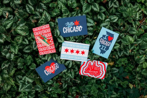 Chicago Style Postcard Set in Plants