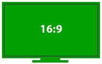 16:9 aspect ratio