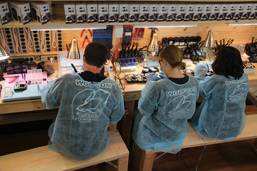 Body camera factory workers