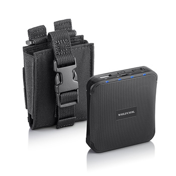 Extended battery pack for body camera