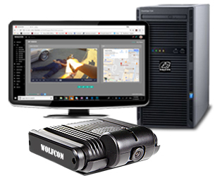 first vehicle package for the wolfcom mini mdvr in car video system