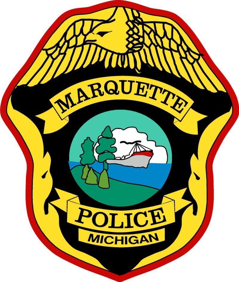 marquette michigan police department patch