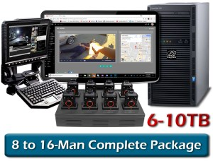 special promotion 8 to 16 man wolfcom halo body camera complete package